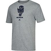 adidas Men's Nevada Wolf Pack Grey Tri-Blend T-Shirt