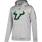 adidas Men's South Florida Bulls Grey Pride Performance Hoodie