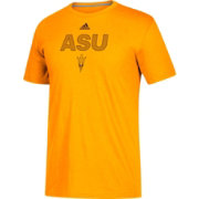adidas Men's Arizona State Sun Devils Gold Go-To Performance T-Shirt