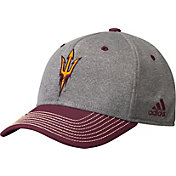 adidas Men's Arizona State Sun Devils Grey/Maroon Structured Adjustable Hat