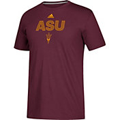 adidas Men's Arizona State Sun Devils Maroon Go-To Performance T-Shirt