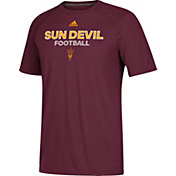 adidas Men's Arizona State Sun Devils Maroon Ultimate Performance Football T-Shirt