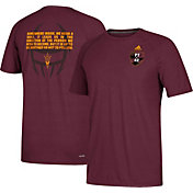 adidas Men's Arizona State Sun Devils Maroon 'PT42' Ultimate Short Sleeve T-Shirt