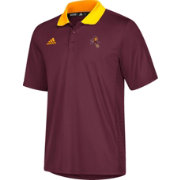 adidas Men's Arizona State Sun Devils Maroon Performance Polo