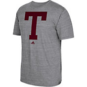 adidas Men's Texas A&M Aggies Grey Vintage Tri-Blend T-Shirt