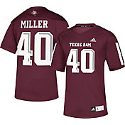 adidas Men's Von Miller Texas A&M Aggies Maroon #40 Replica Football Jersey