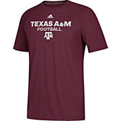 adidas Men's Texas A&M Aggies Maroon Ultimate Performance Football T-Shirt
