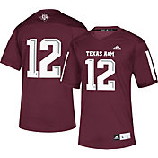 adidas Men's Texas A&M Aggies Maroon #12 Replica Football Jersey