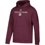 adidas Men's Texas A&M Aggies Maroon Team Issue Performance Hoodie