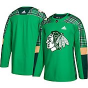 adidas Men's 2019 St. Patrick's Day Chicago Blackhawks Authentic Pro Jersey