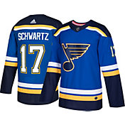 adidas Men's St. Louis Blues Jaden Schwartz #17 Authentic Pro Home Jersey