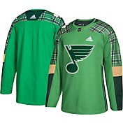 adidas Men's 2019 St. Patrick's Day St. Louis Blues Authentic Pro Jersey