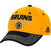 adidas Men's Boston Bruins Locker Room Structured Gold Flex Hat