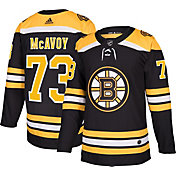 adidas Men's Boston Bruins Charlie McAvoy #73 Authentic Pro Home Jersey