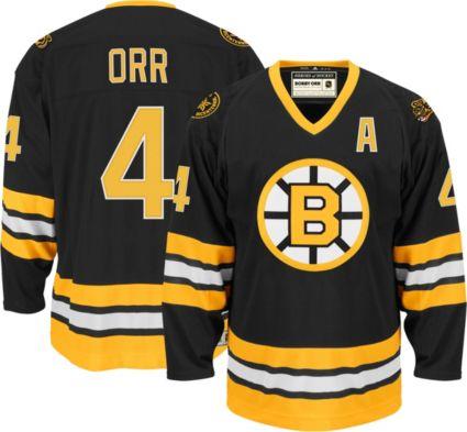 594be2919 adidas Men s Boston Bruins Bobby Orr  4 Home Jersey