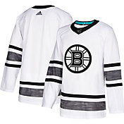 adidas Men's 2019 NHL All-Star Game Boston Bruins Authentic Pro Parley White Blank Jersey
