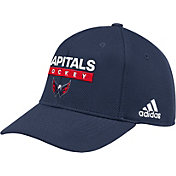adidas Men's Washington Capitals Locker Room Navy Hat