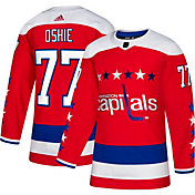adidas Men's Washington Capitals T.J. Oshie #77 Authentic Pro Alternate Jersey