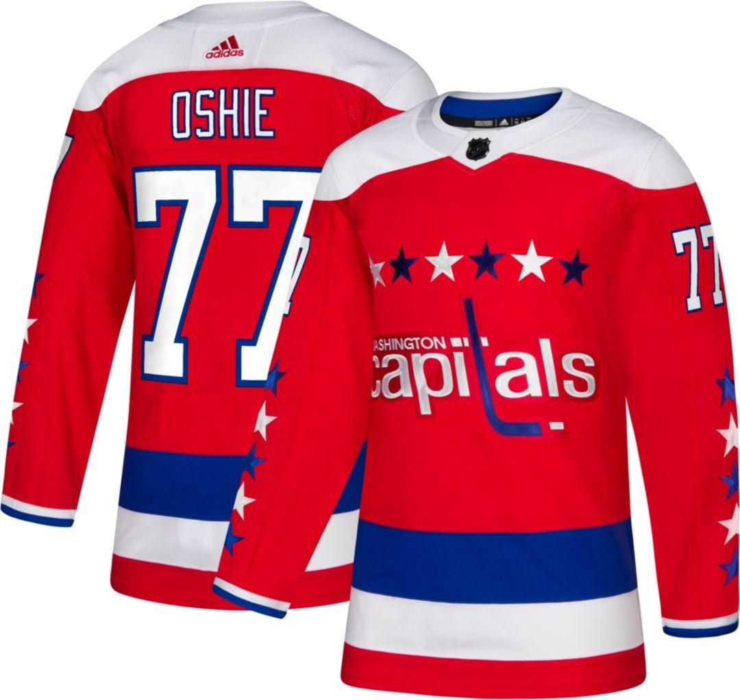 outlet store df6af c9050 adidas Men's Washington Capitals T.J. Oshie #77 Authentic Pro Alternate  Jersey