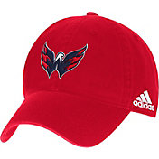 adidas Men's Washington Capitals Secondary Logo Royal Slouch Adjustable Hat