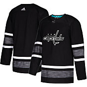 adidas Men's 2019 NHL All-Star Game Washington Capitals Authentic Pro Parley Black Blank Jersey