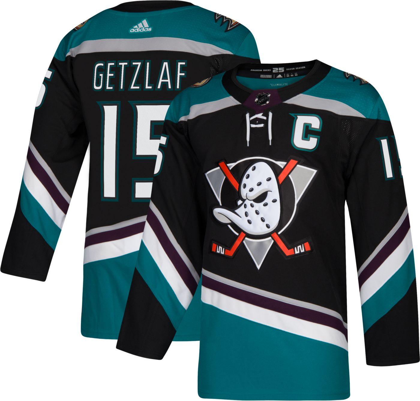 adidas Men's Anaheim Ducks Ryan Getzlaf #15 Authentic Pro Alternate Jersey