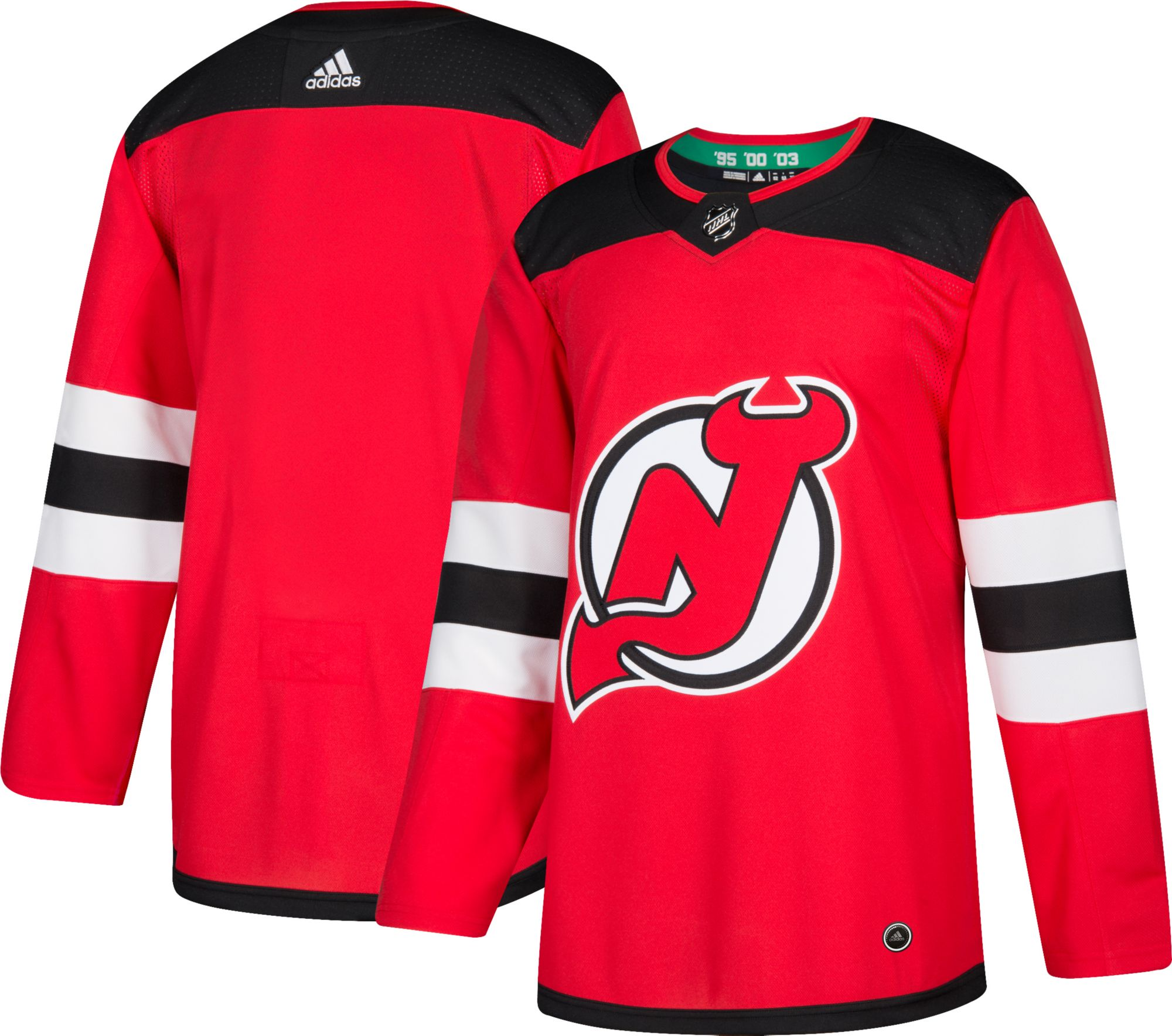 adidas Men s New Jersey Devils Authentic Pro Home Jersey  a66089723
