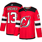 adidas Men's New Jersey Devils Nico Hischier #13 Authentic Pro Home Jersey
