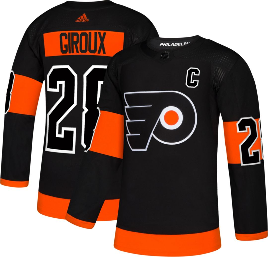 designer fashion 9f819 7f14c adidas Men's Philadelphia Flyers Claude Giroux #28 Authentic Pro Alternate  Jersey