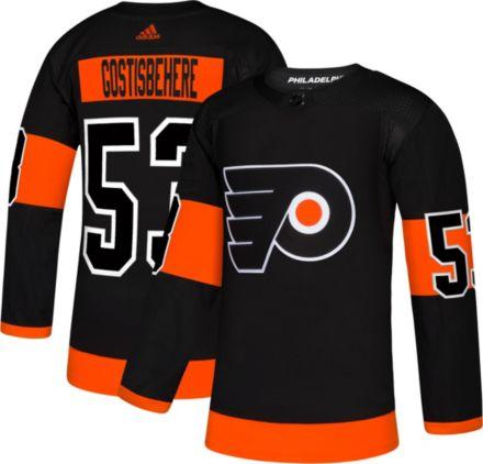 c0830ee6e adidas Men's Philadelphia Flyers Shayne Gostisbehere #53 Authentic Pro  Alternate Jersey