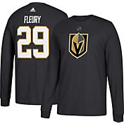 adidas Men's Vegas Golden Knighs Marc-Andre Fleury #29 Black Long Sleeve Shirt