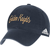 adidas Men's Vegas Golden Knights Script Grey Slouch Adjustable Hat