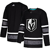adidas Men's 2019 NHL All-Star Game Vegas Golden Knights Authentic Pro Parley Black Blank Jersey