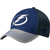 adidas Men's Tampa Bay Lightning Structured Blue Flex Hat