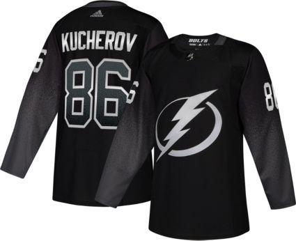 finest selection 87307 3e305 adidas Men's Tampa Bay Lightning Nikita Kucherov #86 Authentic Pro  Alternate Jersey