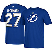 adidas Men's Tampa Bay Lightning Ryan McDonagh #27 Royal T-Shirt