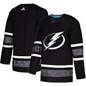 adidas Men's 2019 NHL All-Star Game Tampa Bay Lightning Authentic Pro Parley Black Blank Jersey