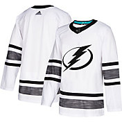 adidas Men's 2019 NHL All-Star Game Tampa Bay Lightning Authentic Pro Parley White Blank Jersey