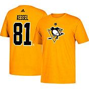 adidas Men's Pittsburgh Penguins Phil Kessel #81 Gold T-Shirt