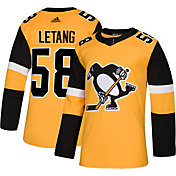 adidas Men's Pittsburgh Penguins Kris Letang #58 Authentic Pro Alternate Jersey
