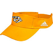 adidas Men's Nashville Predators Logo Gold Adjustable Visor