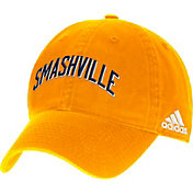 adidas Men's Nashville Predators Smashville Gold Adjustable Hat