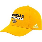 adidas Men's Nashville Predators Locker Room Gold Hat