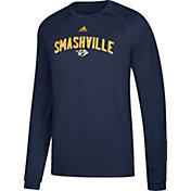 adidas Men's Nashville Predators Smashville Navy Long Sleeve Shirt