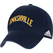 adidas Men's Nashville Predators Smashville Navy Adjustable Hat