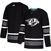 adidas Men's 2019 NHL All-Star Game Nashville Predators Authentic Pro Parley Black Blank Jersey