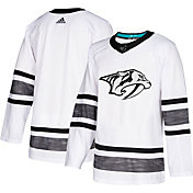 adidas Men's 2019 NHL All-Star Game Nashville Predators Authentic Pro Parley White Blank Jersey
