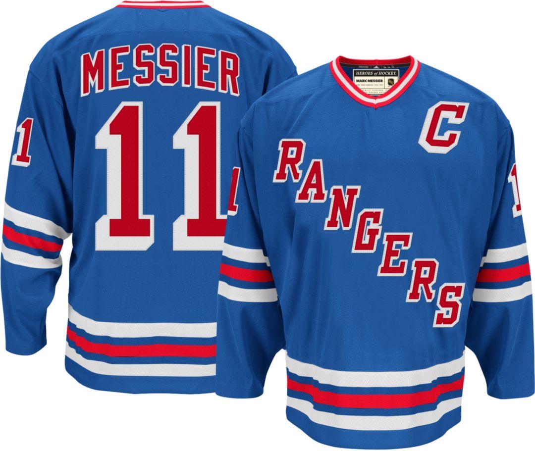 9ce4d3857d9 adidas Men's New York Rangers Mark Messier #11 Home Jersey | DICK'S ...