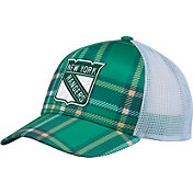 adidas Men's 2018 St. Patrick's Day New York Rangers Structured Green Adjustable Hat