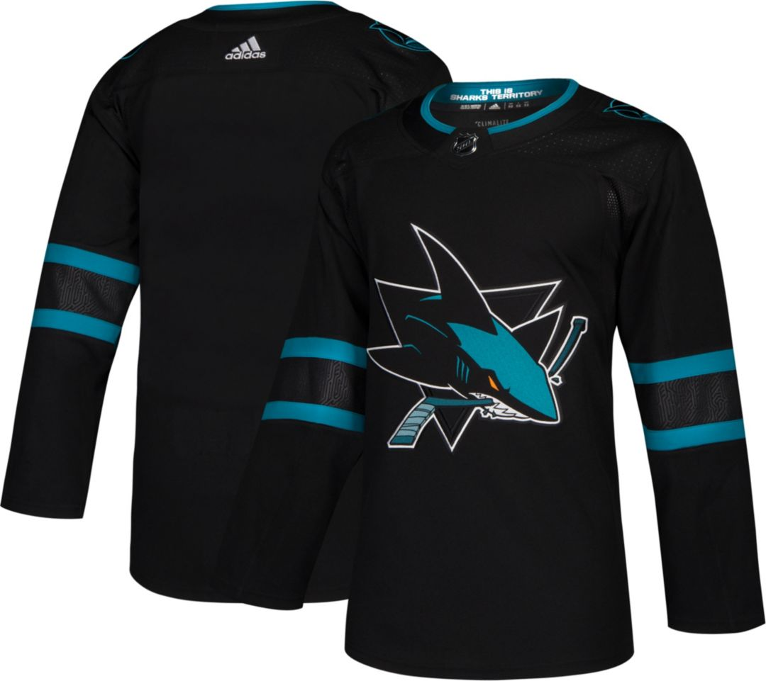 on sale db0c5 2df32 adidas Men's San Jose Sharks Authentic Pro Alternate Jersey